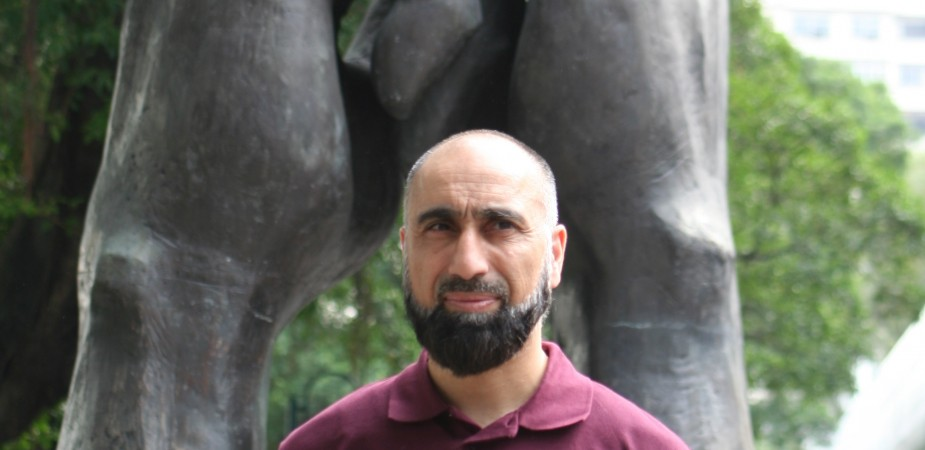 Wing Chun Master Abid Mahmood in Hong Kong 2011. Hong Kong