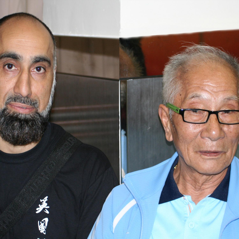 Grandmaster Ip Chun and Master Abid Mahmood